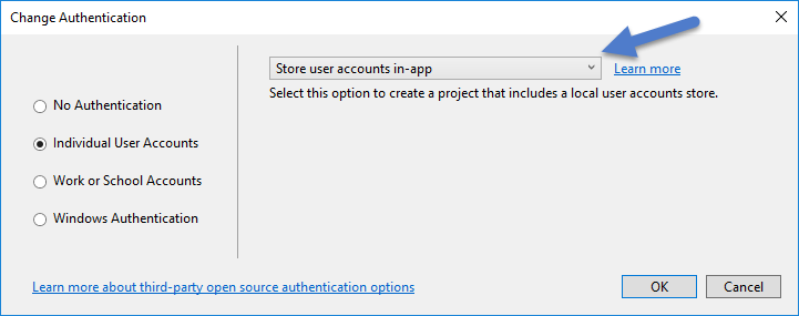 Creating New ASP .NET MVC Authentication